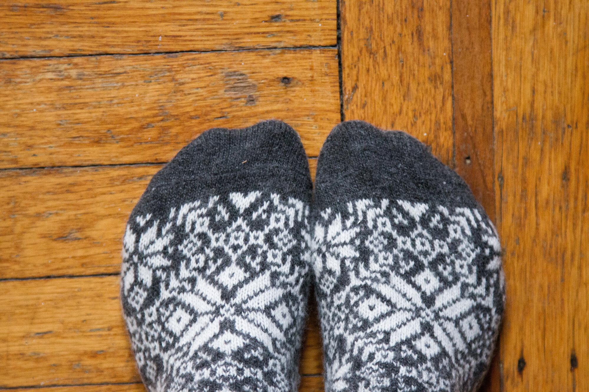 socks | reading my tea leaves