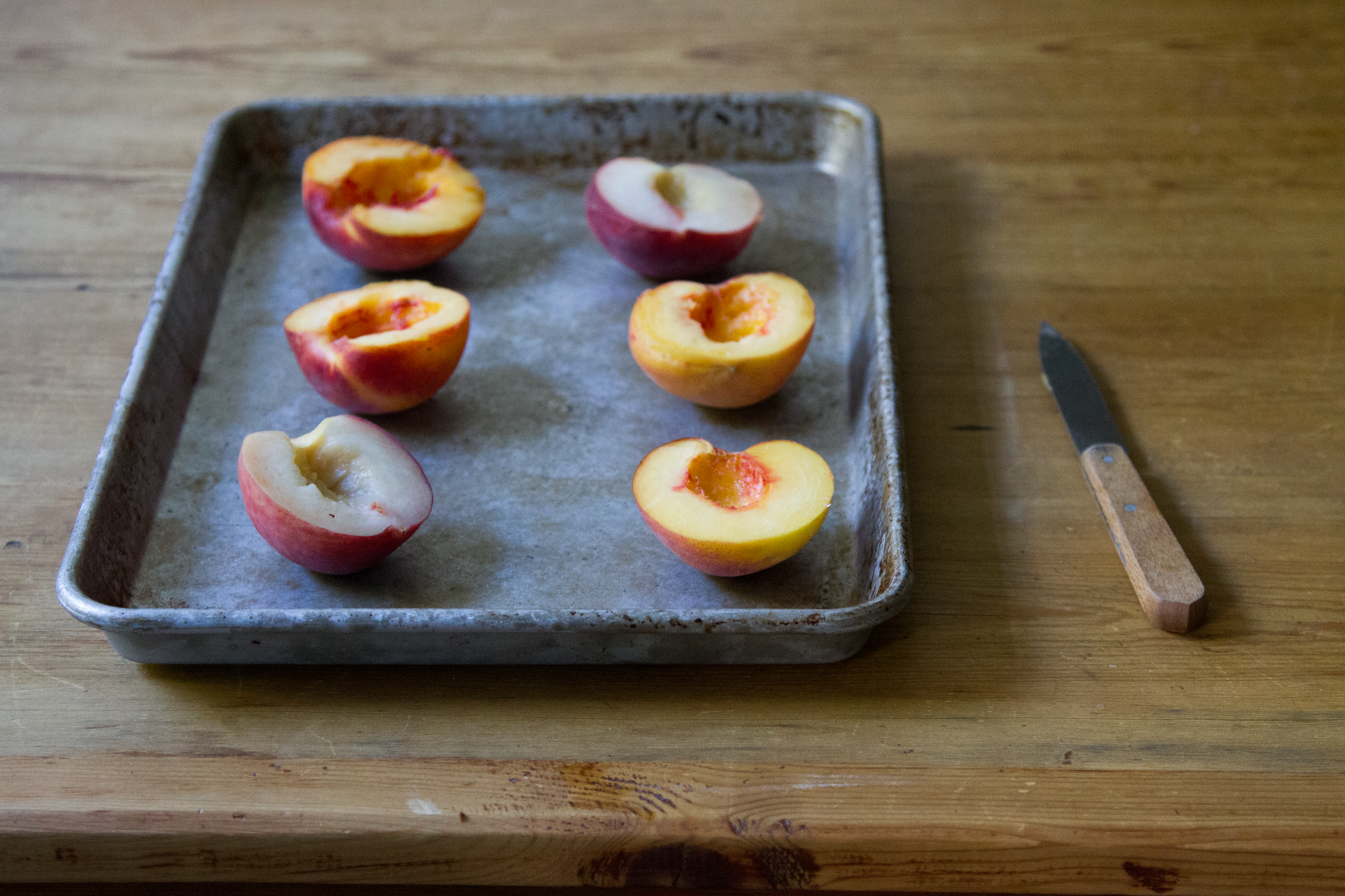 roasted peaches and cashew cream popsicles | reading my tea leaves