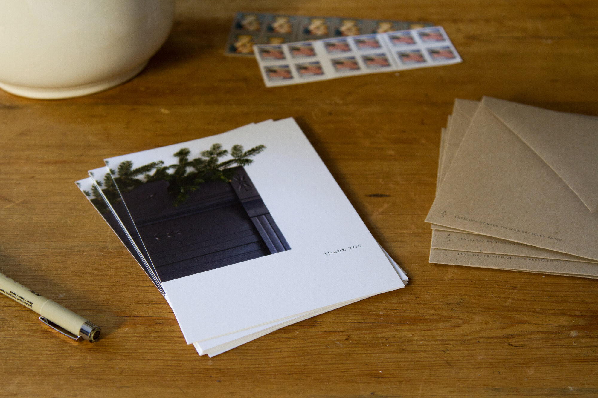 habit shift: thank you notes | reading my tea leaves
