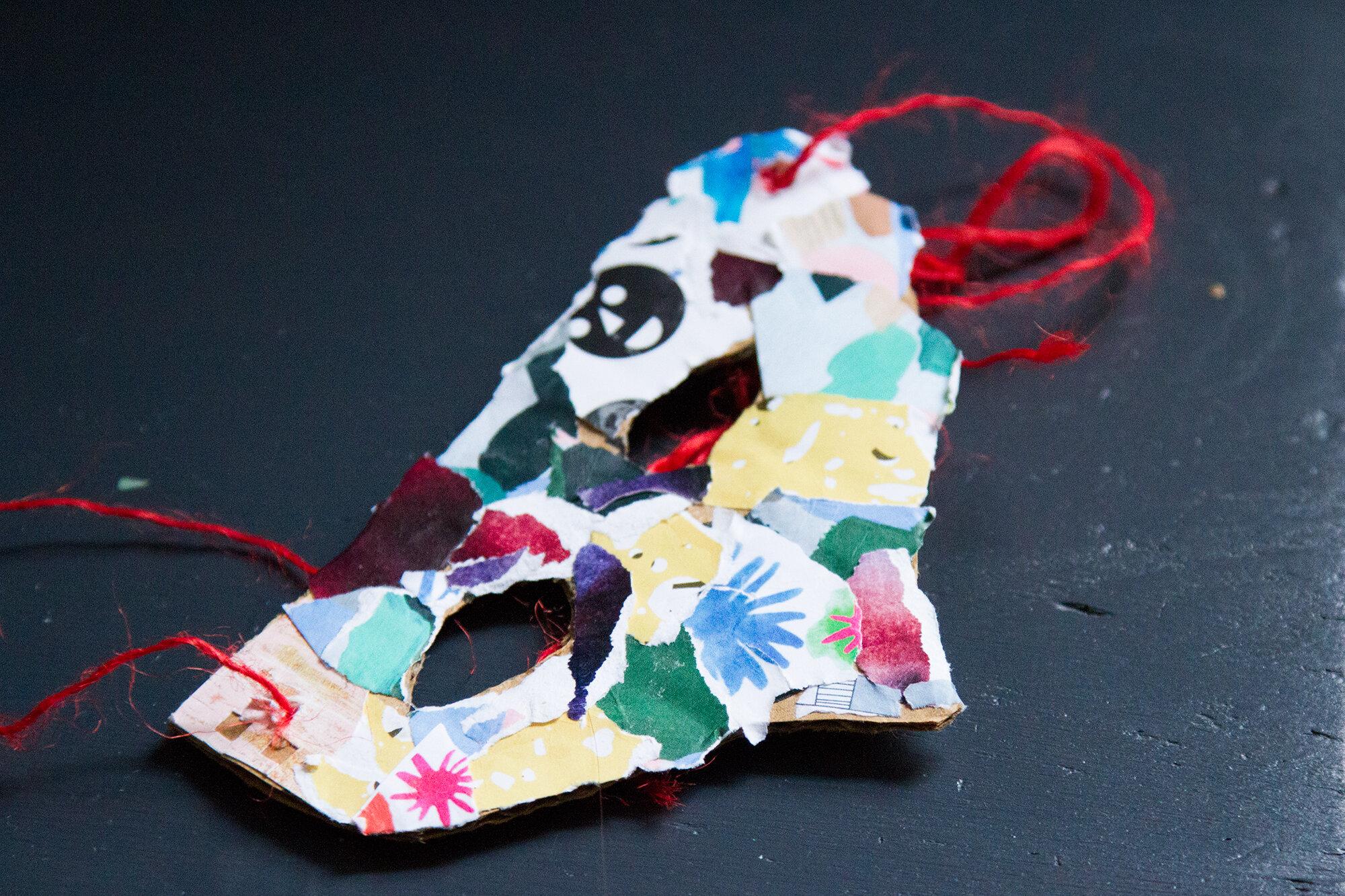 mask | reading my tea leaves