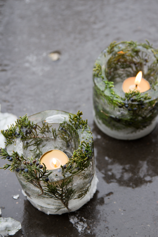 ice lanterns   reading my tea leaves