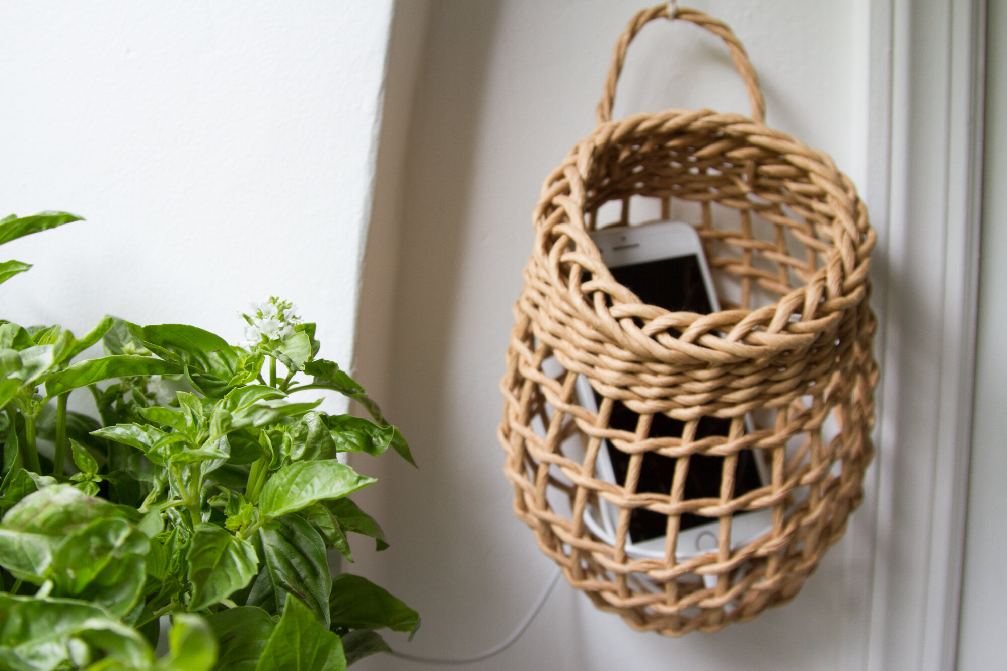 cell phone charging station | reading my tea leaves